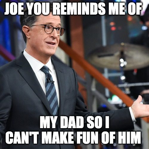 Liberal Comedians Say Joe Biden So Good They Can't Make Fun Of Him
