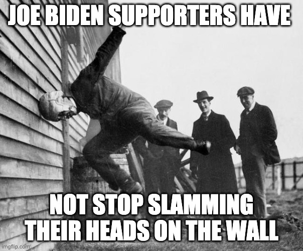 Has Joe Biden Supporters Learned Anything Since The Election?