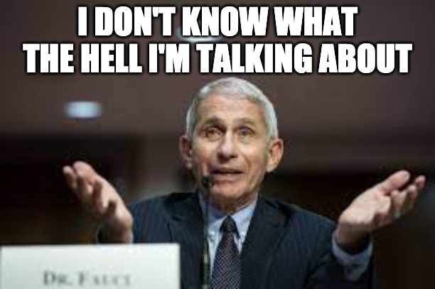 Garden Gnome Fauci Says He's Too Busy To Be Concerned With The Illegals At The Border