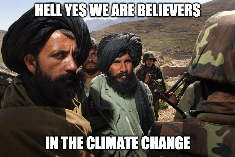 The Taliban Now Believes In Climate Change, They Could Be Democrats