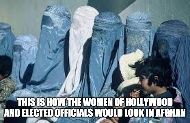 Why Don't We Drop All Politicians, Elites, And Hollywood Crowd In Afghan And Other Countries?