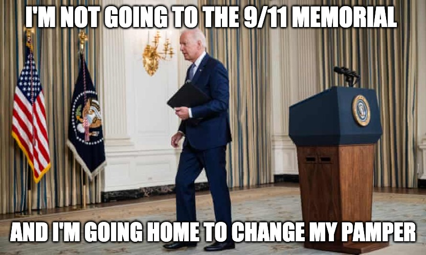 Joe Biden Will Not Speak At The 9/11 Memorial Now: Crowds Chant F**k Joe Biden
